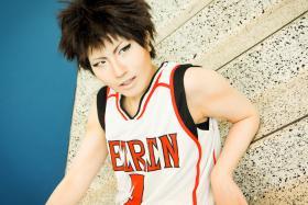 Teppei Kiyoshi from Kuroko's Basketball worn by Imari Yumiki