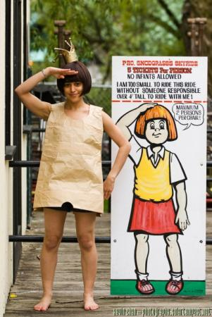 Princess Elizabeth/The Paper Bag Princess from Paper Bag Princess, The worn by Pan