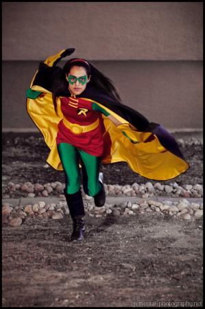 Robin from DC Comics worn by Pan
