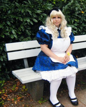 Alice from Alice in Wonderland worn by Kasumi