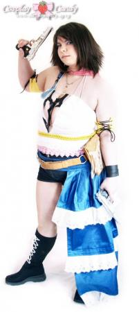 Yuna from Final Fantasy X-2 worn by Kasumi