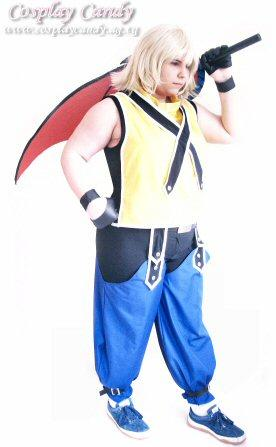 Riku from Kingdom Hearts worn by Kasumi