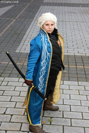 Vergil from Devil May Cry 3 worn by Kasumi