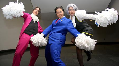 Phoenix Wright from Phoenix Wright: Ace Attorney worn by Pork Buns
