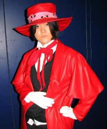 Alucard from Hellsing worn by Pork Buns