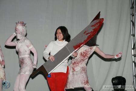 Angela Orosco from Silent Hill 2 worn by Pork Buns