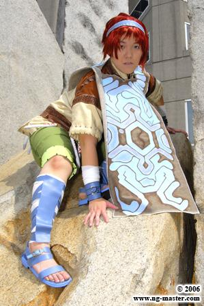 Wander from Shadow of the Colossus worn by Pork Buns