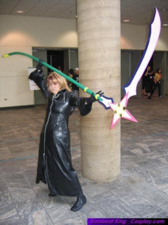 Marluxia from Kingdom Hearts 2 worn by Pork Buns
