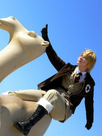 America / Alfred F. Jones from Axis Powers Hetalia worn by Saravana