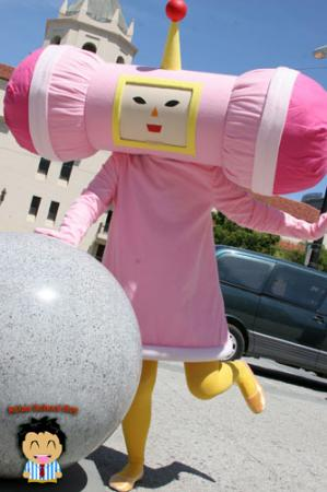Honey from Katamari Damacy worn by Saravana