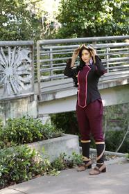 Asami Sato from Legend of Korra, The by Saravana