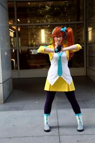 Athena Cykes from Phoenix Wright: Ace Attorney - Dual Destinies by Saravana