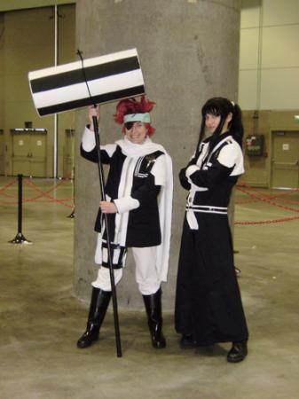 Yu Kanda from D. Gray-Man worn by Lithele