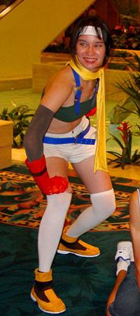 Yuffie Kisaragi from Kingdom Hearts