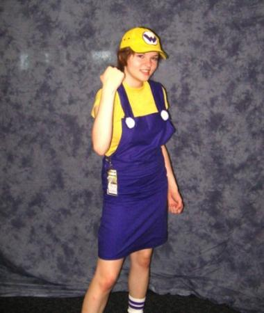 Wario from Wario Ware Inc. worn by Hanamaru
