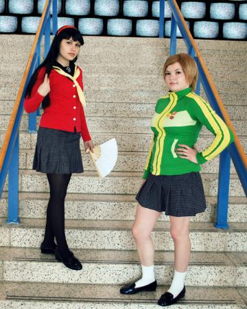 Chie Satonaka from Persona 4 worn by Hanamaru