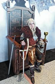 Commander Cullen Rutherford  from Dragon Age 3: Inquisition   by UsagiNoSenshi