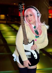 Super Sonico from Super Sonico  worn by UsagiNoSenshi