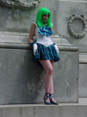 Sailor Neptune from Sailor Moon S worn by Chibi Rinoa