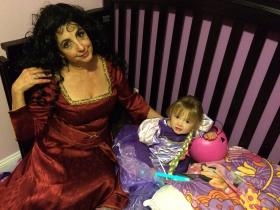 Mother Gothel from Tangled worn by Chibi Rinoa