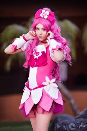 Cure Blossom from HeartCatch PreCure!