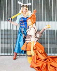Flame Princess from Adventure Time with Finn and Jake worn by Shiya Wind