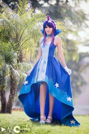 Twilight Sparkle from My Little Pony Friendship is Magic worn by Shiya Wind