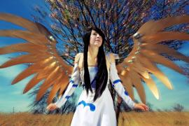 Skuld from Ah My Goddess worn by Shiya Wind