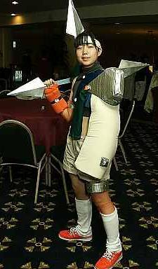 Yuffie Kisaragi from Final Fantasy VII worn by pikacello