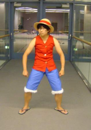 Monkey D. Luffy from One Piece worn by pikacello