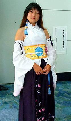 Yuna from Final Fantasy X worn by pikacello