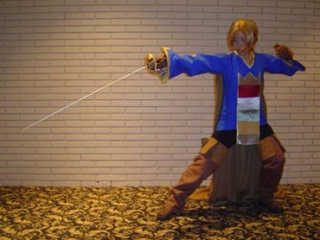 Ramza Beoulve from Final Fantasy Tactics worn by pikacello