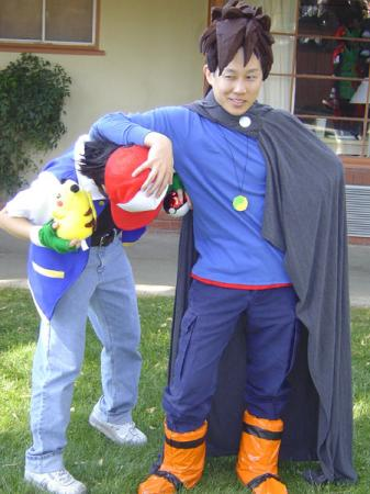 Ash Ketchum / Satoshi from Pokemon worn by pikacello