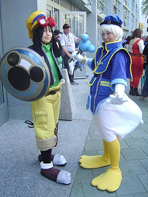 Goofy from Kingdom Hearts 2 worn by pikacello