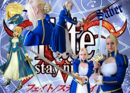 Saber from Fate/Stay Night worn by SeibaTooth