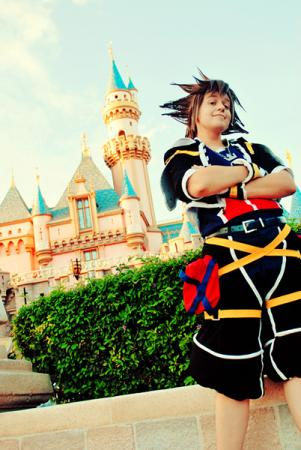 Sora from Kingdom Hearts 2 worn by Spwinkles