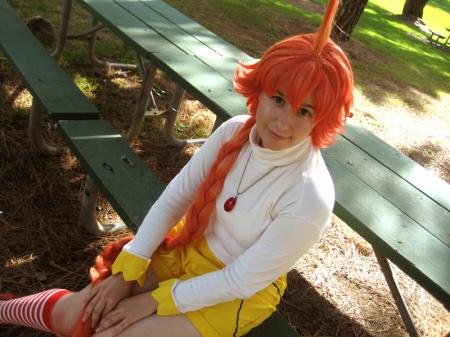Ahiru from Princess Tutu worn by Spwinkles