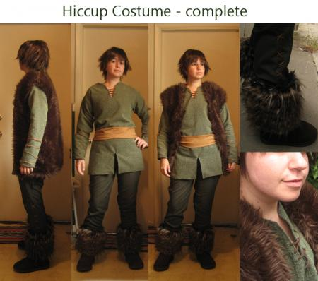 Hiccup from How to Train Your Dragon worn by Rosebud