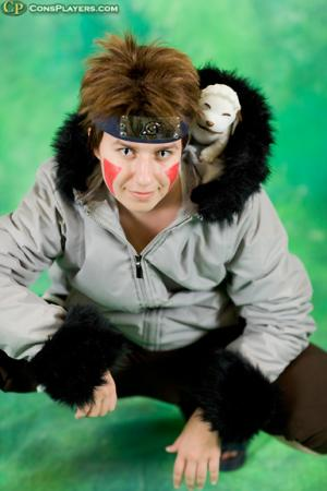 Kiba Inuzuka from Naruto worn by Rosebud
