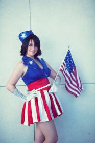 USO Girl from Captain America worn by Spwinkles