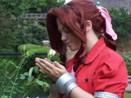 Aeris / Aerith Gainsborough from Final Fantasy VII worn by Nekome