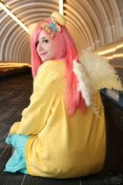Fluttershy from My Little Pony Friendship is Magic worn by Pocky Princess Darcy