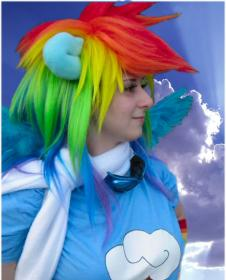 Rainbow Dash from My Little Pony Friendship is Magic worn by Pocky Princess Darcy