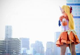 Sailor Venus from Sailor Moon worn by Pocky Princess Darcy