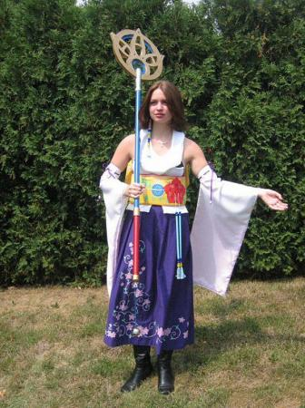 Yuna from Final Fantasy X worn by Melly