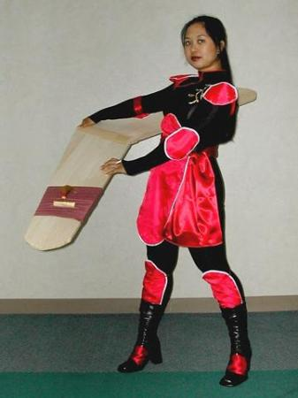Sango from Inuyasha worn by Pyxie