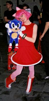 Amy Rose from Sonic Adventure