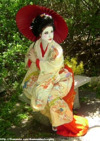 Sayuri Nitta from Memoirs of a Geisha worn by Shiva