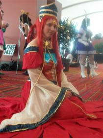 Princess Kakyuu / Fireball from Sailor Moon Seramyu Musicals worn by Boobaloo Cosplay