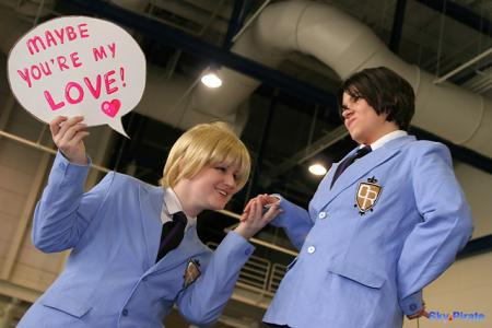 Haruhi Fujioka from Ouran High School Host Club worn by SanctuaryMemory
